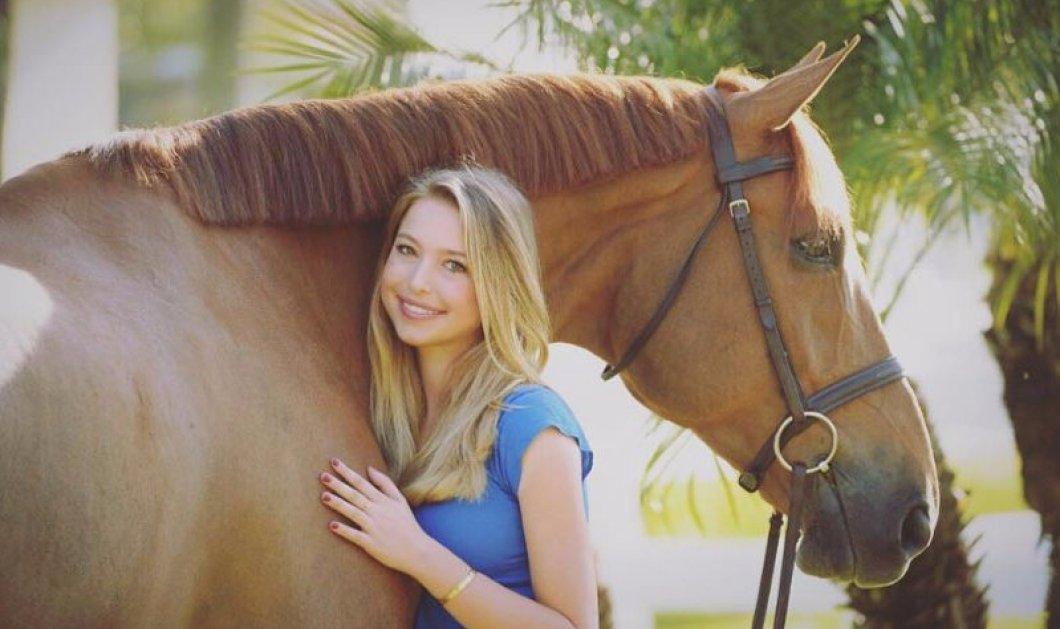 Η όμορφη 18χρονη κόρη του ιδρυτή της Apple, Steve Jobs, κατακτά τον κόσμο της ιππασίας!  - Κυρίως Φωτογραφία - Gallery - Video