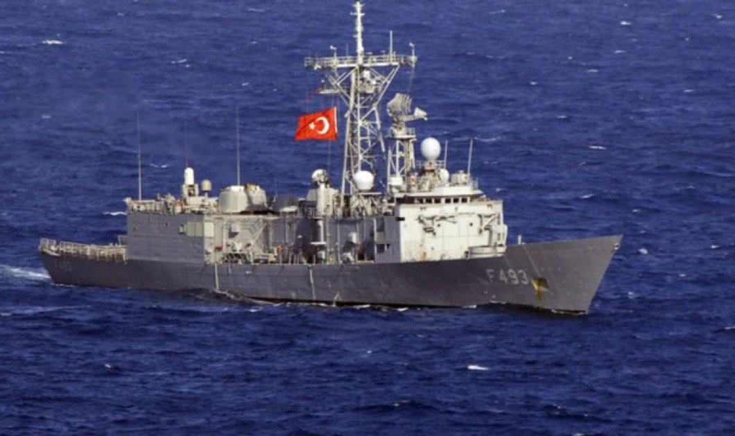 Οι πραξικοπηματίες κατέλαβαν την τουρκική φρεγάτα Γιαβούζ - Όμηρος τους ο αρχηγός του Τουρκικού στόλου! - Κυρίως Φωτογραφία - Gallery - Video