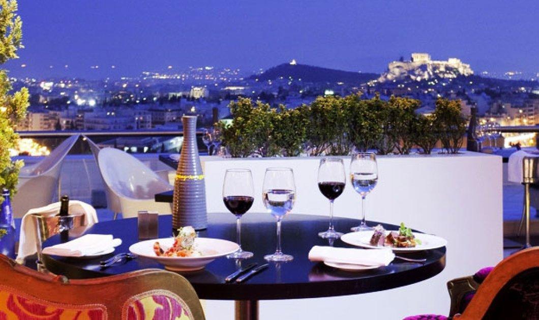 10 εστιατόρια που «βλέπουν» την Ακρόπολη στην Αθήνα - Απολαύστε τα  - Κυρίως Φωτογραφία - Gallery - Video