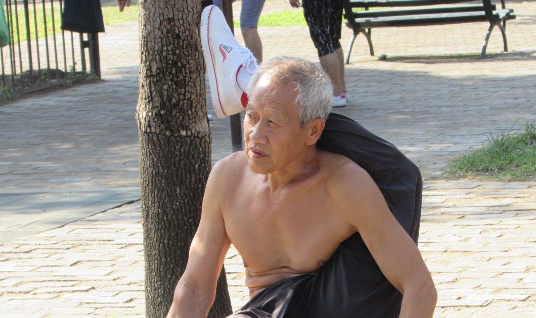 60αρηδες & 70αρηδες βάζουν κάτω 20αρηδες! Δείτε φωτό με πρωινή γυμναστική & Κουνγκ Φου στο πάρκο  - Κυρίως Φωτογραφία - Gallery - Video