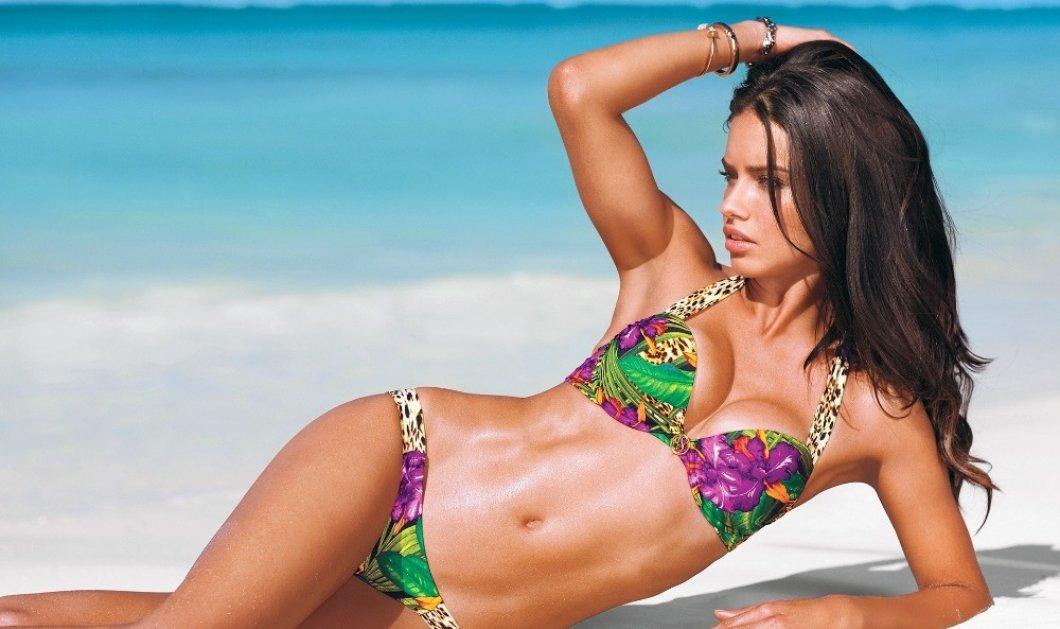 Kορμί θανατηφόρο η Adriana Lima: Δείτε την να λιάζεται σε παραλία της Μυκόνου - Κυρίως Φωτογραφία - Gallery - Video