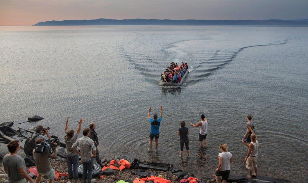 Νέα τραγωδία στη Λέσβο: Νεκρό 6χρονο κοριτσάκι μετά την ανατροπή λέμβου με μετανάστες  - Κυρίως Φωτογραφία - Gallery - Video