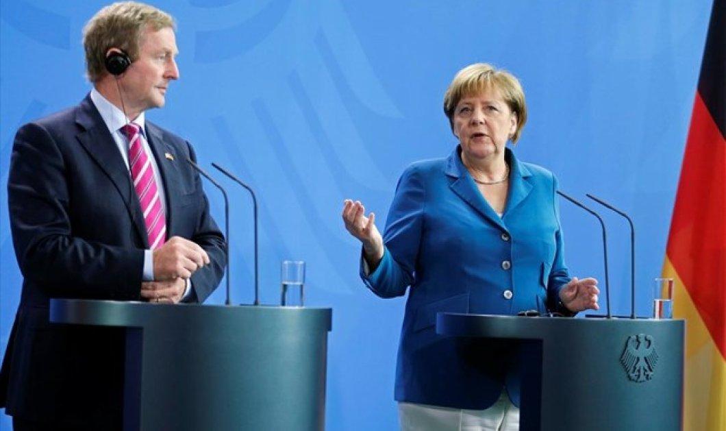 Μέρκελ: H Τερέζα Μέι θα πρέπει να αποφασίσει για τις σχέσεις της Βρετανίας με την ΕΕ  - Κυρίως Φωτογραφία - Gallery - Video