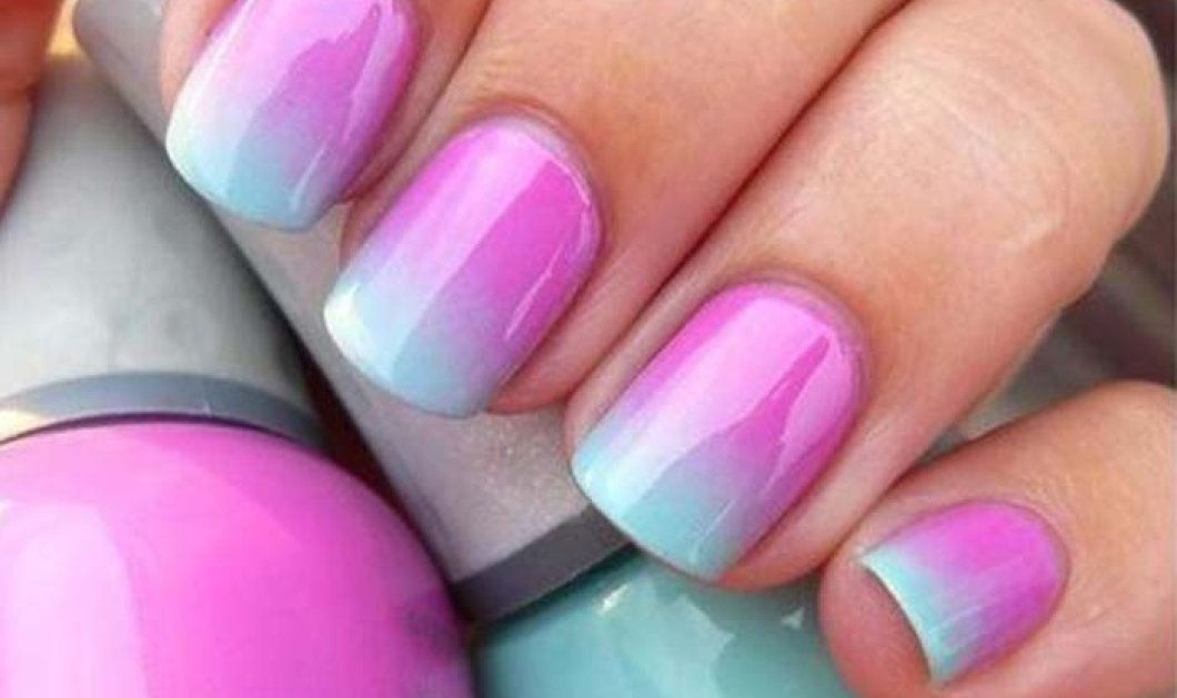 Ombre nails: 30 υπέροχες προτάσεις για ένα μοναδικό μανικιούρ - Βίντεο & φωτό step by step - Κυρίως Φωτογραφία - Gallery - Video