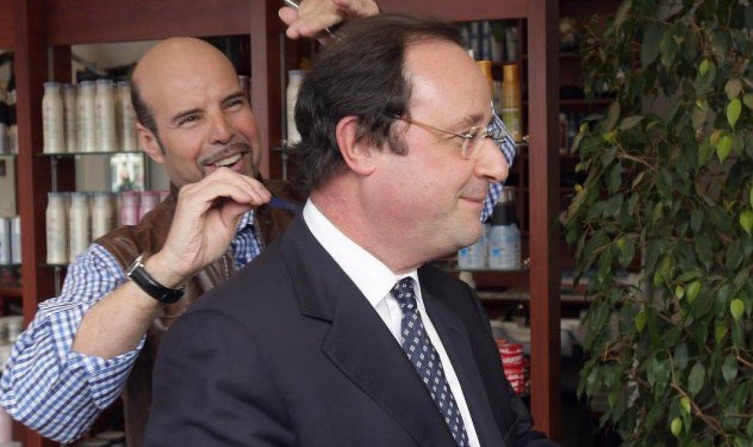 #CoiffeurGate: O πολυχρονεμένος Ολάντ με τα μαλλιά στα κάγκελα - Ξεσάλωσε το ίντερνετ με τα 10.000 ευρώ στο κομμωτή του  - Κυρίως Φωτογραφία - Gallery - Video