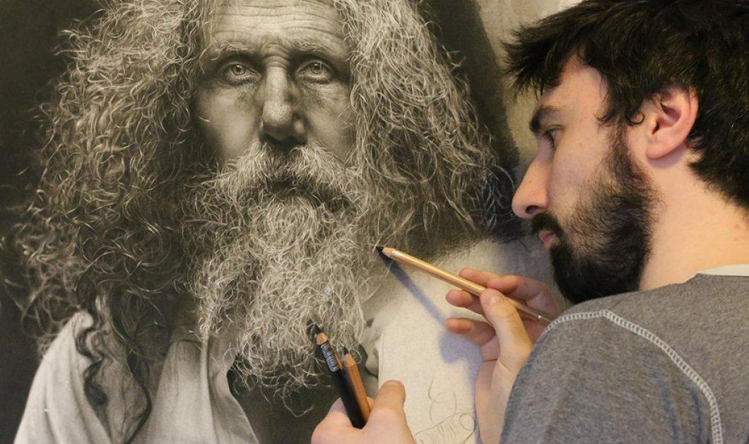 Πίνακες ή φωτογραφίες; Αυτός ο καλλιτέχνης ζωγραφίζει μοναδικά έργα που μοιάζουν με λήψεις από κάμερα   - Κυρίως Φωτογραφία - Gallery - Video
