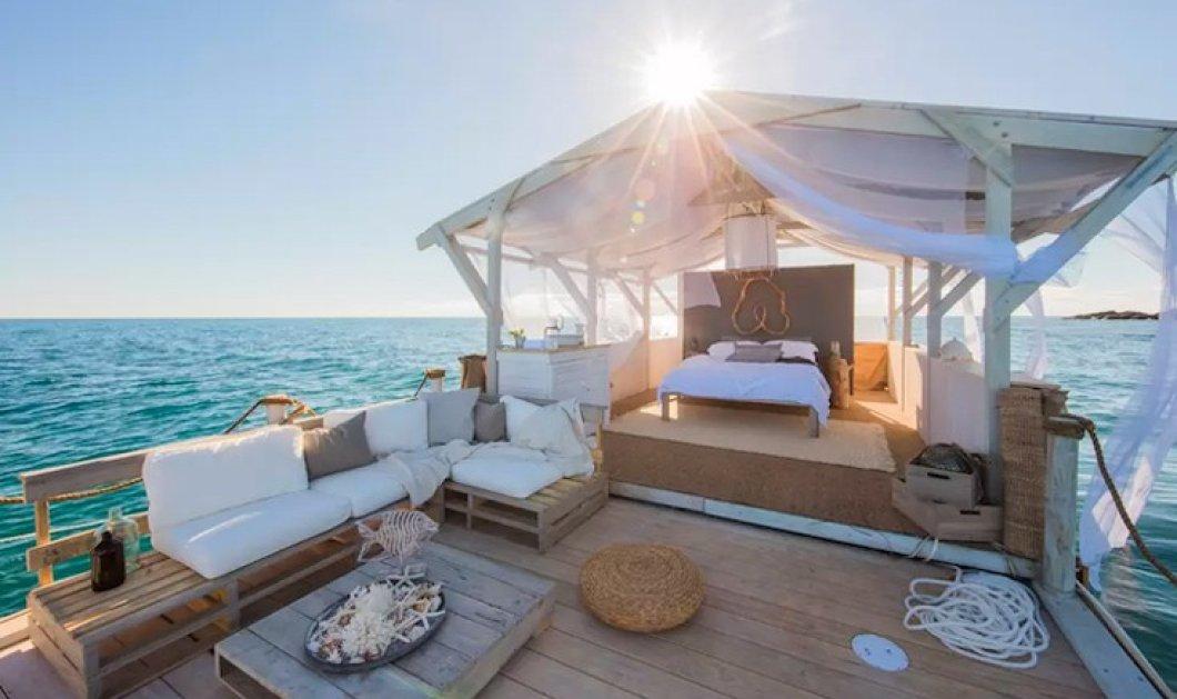 Το διαμέρισμα που πλέει πάνω από το Great Barrier Reef: Η νέα έκπληξη από την Airbnb - Φώτο  - Κυρίως Φωτογραφία - Gallery - Video
