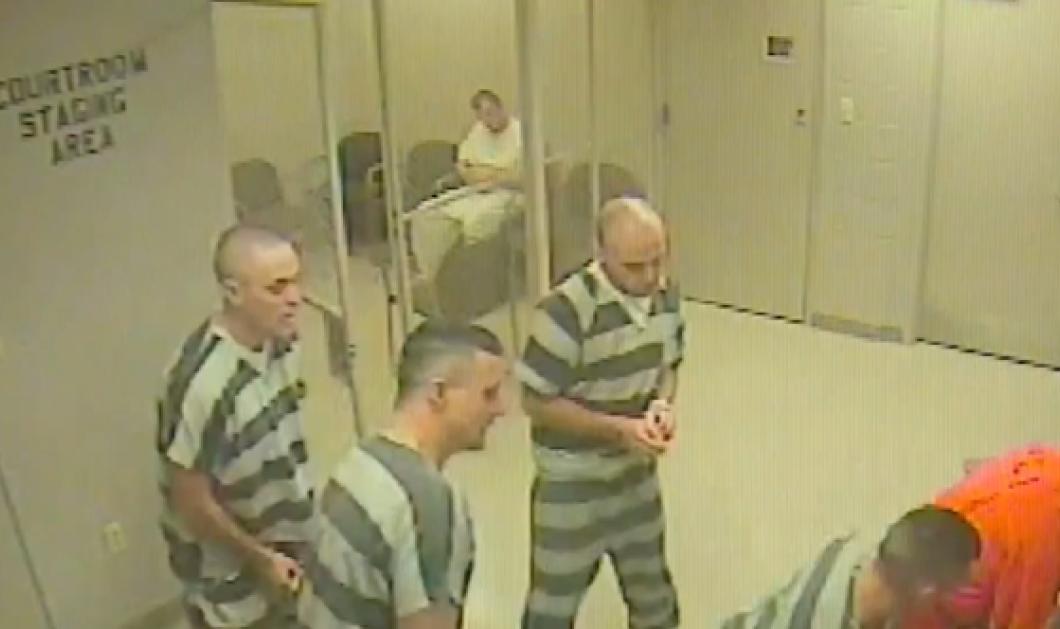 Απίστευτο περιστατικό: Οι κρατούμενοι δραπέτευσαν για να σώσουν τη ζωή ενός δεσμοφύλακα (βίντεο) - Κυρίως Φωτογραφία - Gallery - Video