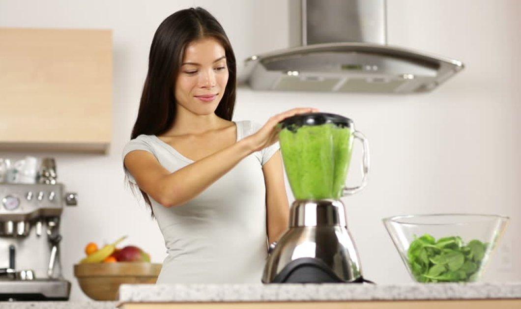 Θαυματουργό smoothie για επίπεδη κοιλιά και άμεσο ξεφούσκωμα - Μόνο 240 θερμίδες - Κυρίως Φωτογραφία - Gallery - Video