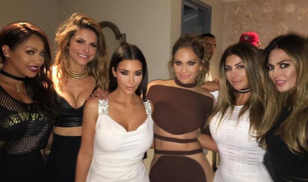 Η Εθνική των καμπυλών μαζεύτηκε για τα 47α γενέθλια της Jennifer Lopez: Kardashian- Menounos μαζί της   - Κυρίως Φωτογραφία - Gallery - Video