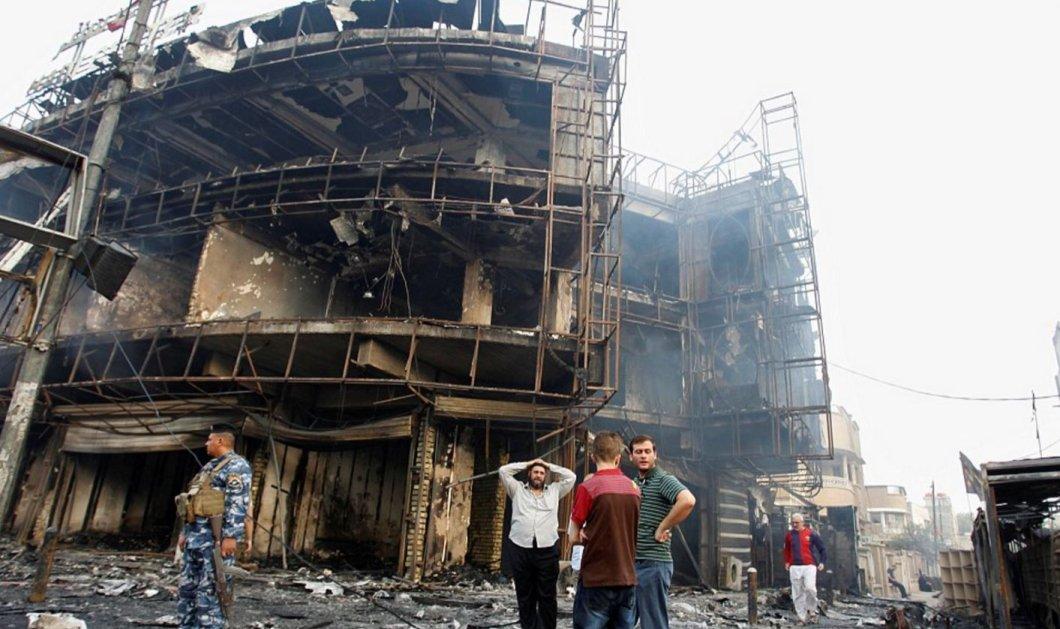 Συγκλονιστικές φωτό από το μακελειό του ISIS στη Βαγδάτη - Πάνω από 125 οι νεκροί - Κυρίως Φωτογραφία - Gallery - Video