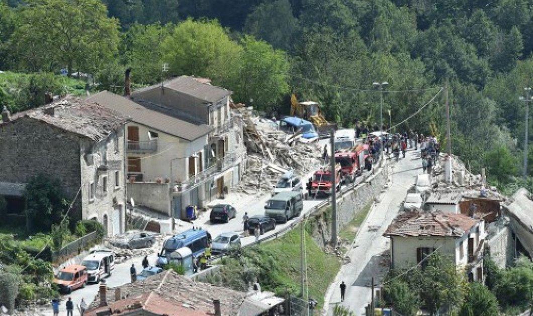Χωριά έσβησαν από τον χάρτη - Βαρύ πένθος στην Ιταλία - 267 οι νεκροί από το φονικό σεισμό    - Κυρίως Φωτογραφία - Gallery - Video
