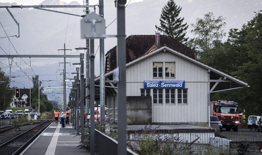 Νεκρός ο 27χρονος δράστης της χθεσινής επίθεσης σε τρένο στην Ελβετία - Υπέκυψε στα τραύματά της μια επιβάτης  - Κυρίως Φωτογραφία - Gallery - Video