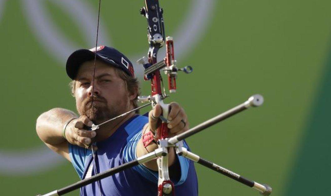 "O Λεονάρντο Ντι Κάπριο... Ολυμπιονίκης της τοξοβολίας: Πανικός στο Ρίο με τον ""σωσία!"" - Κυρίως Φωτογραφία - Gallery - Video"
