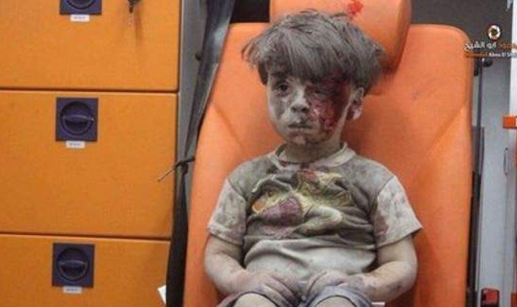 Η πιο σκληρή φωτό του πολέμου στην Συρία: Αιματοβαμμένος 5χρονος συγκινεί όλον τον πλανήτη - Κυρίως Φωτογραφία - Gallery - Video