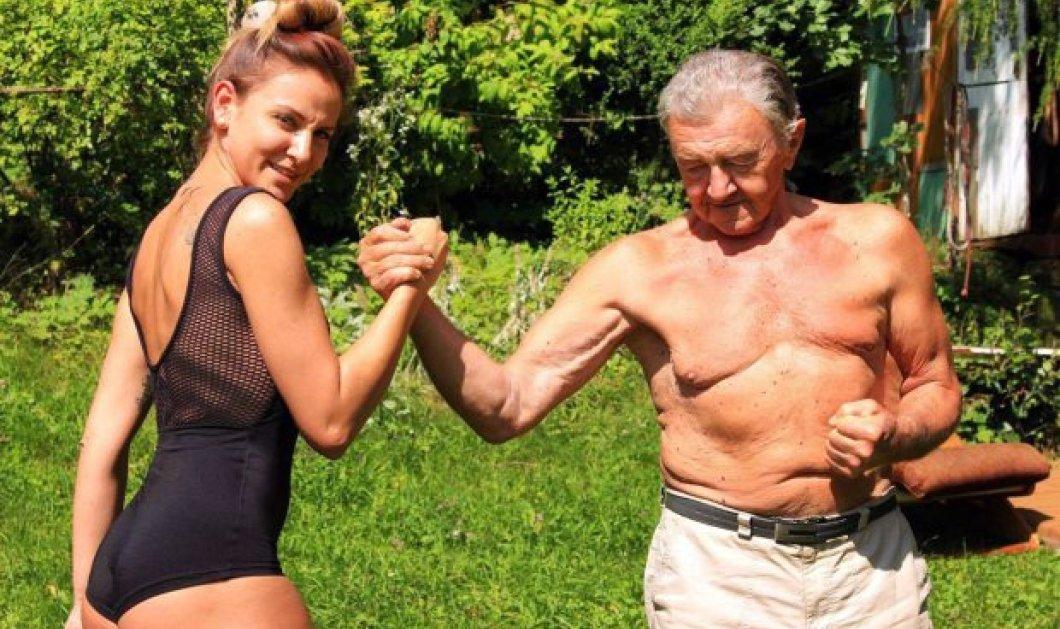 Την προπονούσε ο 80χρονος παππούς της και έγινε κορμάρα - Δείτε την πανέμορφη 24χρονη Basia  - Κυρίως Φωτογραφία - Gallery - Video