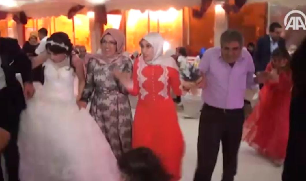 Βίντεο & φώτο σοκ: Η έκρηξη στην Τουρκία την ώρα του γάμου - πανικόβλητοι & αιματοβαμμένοι, νύφη, γαμπρός, καλεσμένοι    - Κυρίως Φωτογραφία - Gallery - Video
