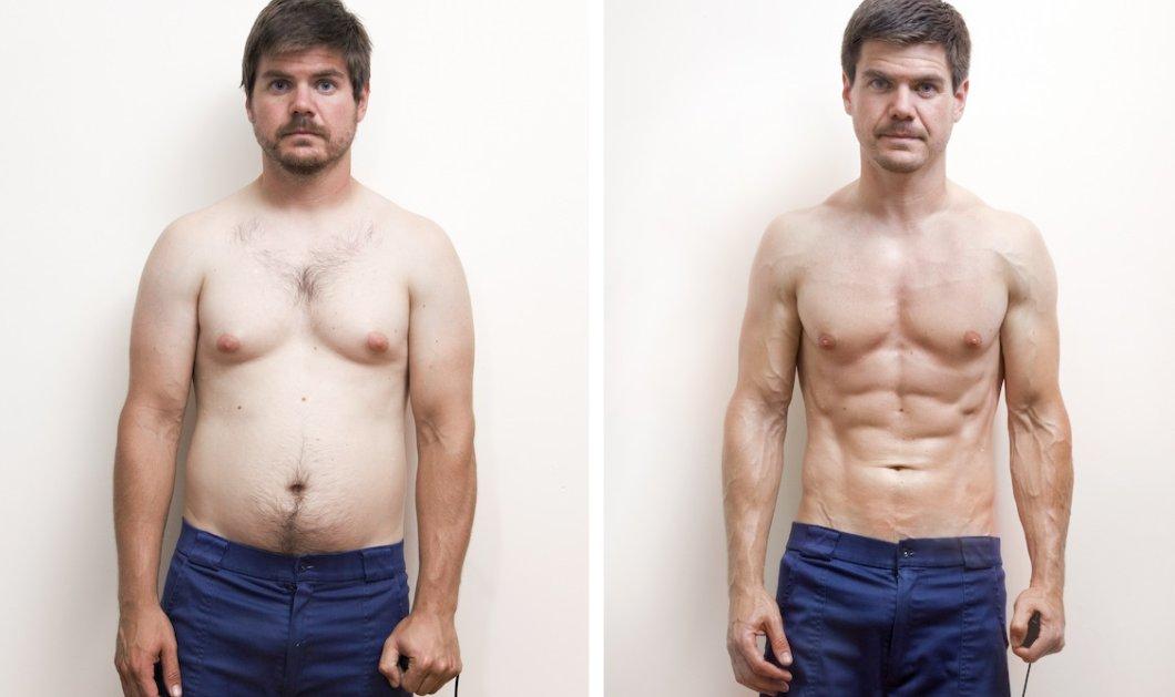 Ο Ρόμπερτ μεταμόρφωσε τον εαυτό του κάνοντας ασκήσεις μόνο στην φύση – Το αποτέλεσμα σοκάρει - Κυρίως Φωτογραφία - Gallery - Video