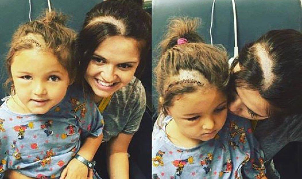 Συγκινητικό Story: Μητέρα ξυρίζει το κεφάλι της για να συμπαρασταθεί στην κόρη της που πάσχει από καρκίνο - Κυρίως Φωτογραφία - Gallery - Video
