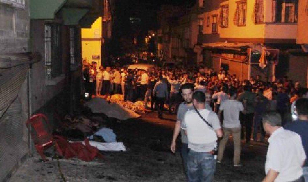Ματωμένος γάμος στην Τουρκία - 50 νεκροί και 94 τραυματίες από έκρηξη - Το ISIS πίσω από την επίθεση  - Κυρίως Φωτογραφία - Gallery - Video