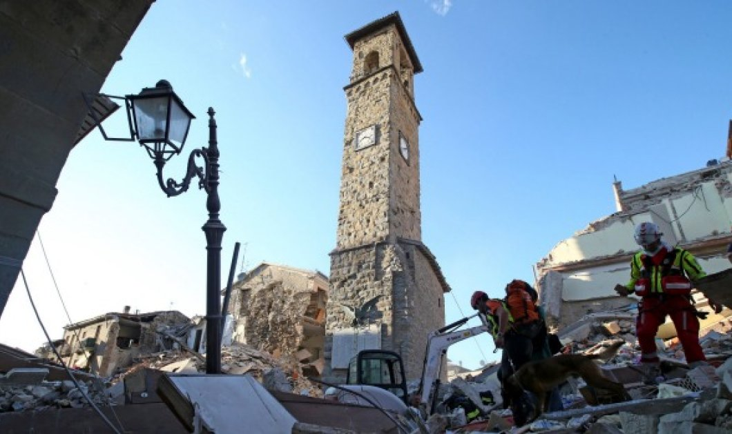 Drone βίντεο: Η ολική καταστροφή στο Αματρίτσε - Τι άφησε πίσω του ο φονικός σεισμός - Κυρίως Φωτογραφία - Gallery - Video