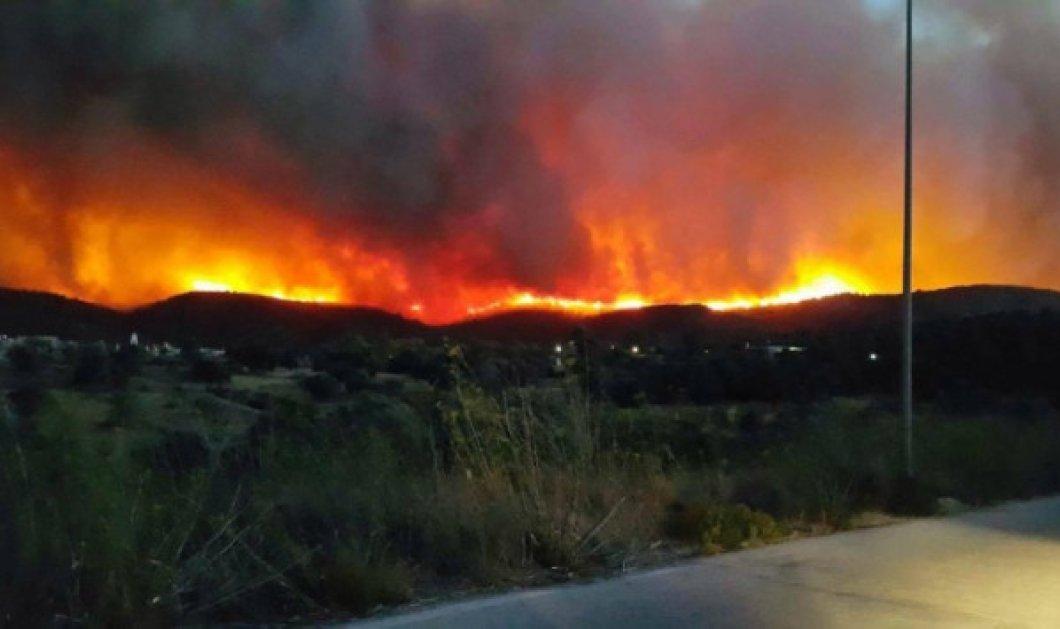 Φωτιά στη Χίο: Στη ΜΕΘ η 64χρονη με εγκαύματα στο 70% του σώματός της - Κυρίως Φωτογραφία - Gallery - Video