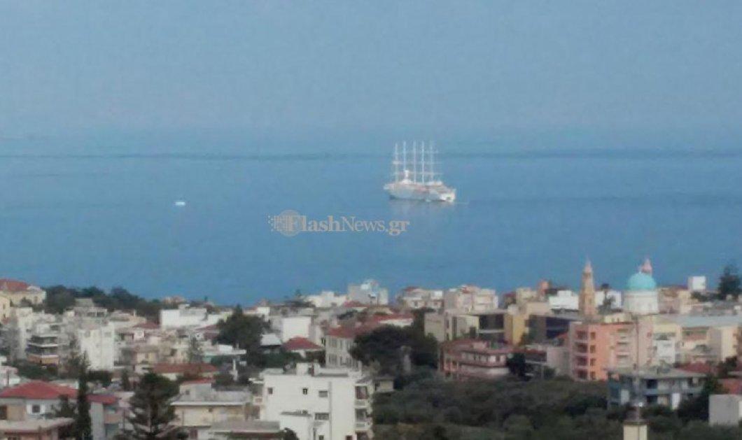 Good News: Στα Χανιά το Club Med 2 - Το μεγαλύτερο ιστιοφόρο κρουαζιερόπλοιο του κόσμου - Κυρίως Φωτογραφία - Gallery - Video