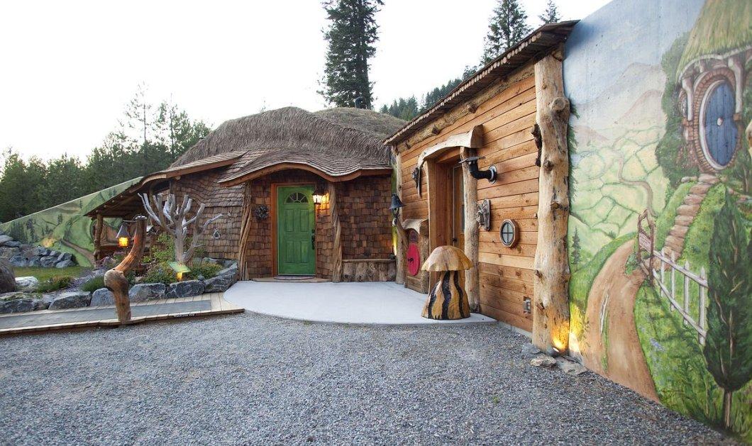 Το Eirinika ανακάλυψε το σπίτι - χόμπιτ: Εικόνες βγαλμένες από το διάσημο παραμύθι - Κυρίως Φωτογραφία - Gallery - Video