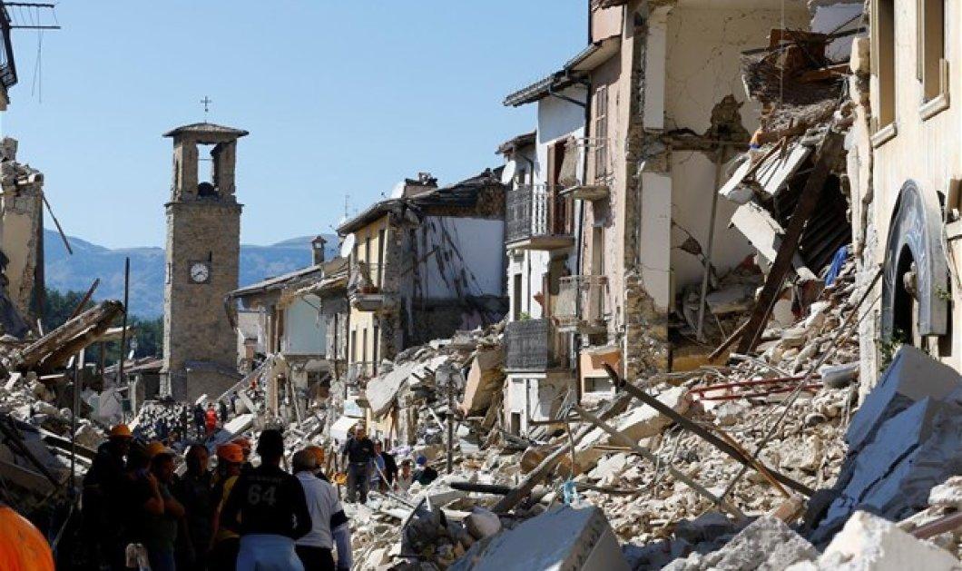 Συγκλονίζουν οι εικόνες πριν και μετά τον καταστροφικό σεισμό στην Ιταλία  - Κυρίως Φωτογραφία - Gallery - Video
