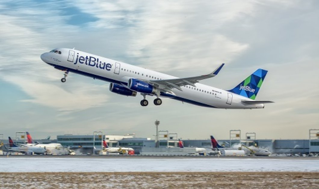 Θρίλερ on air! 24 τραυματίες σε πτήση της Jet Blue από ισχυρές αναταράξεις - Κυρίως Φωτογραφία - Gallery - Video