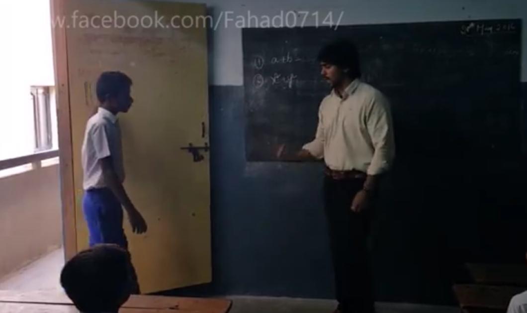 Τι ανακάλυψε ο δάσκαλος για τον μαθητή του που αργούσε συνέχεια; Το πιο συγκινητικό βίντεο...  - Κυρίως Φωτογραφία - Gallery - Video