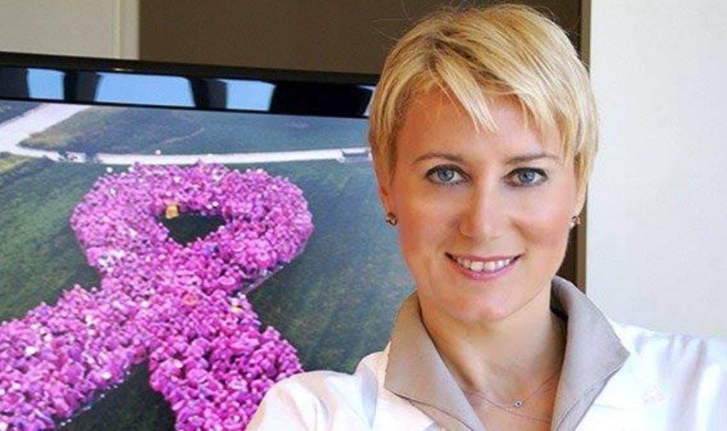 Νατάσα Παζαΐτη: Επισκεφθείτε το νέο της blog για τον καρκίνο του μαστού - Ποιο είναι το σύνθημα της - Κυρίως Φωτογραφία - Gallery - Video