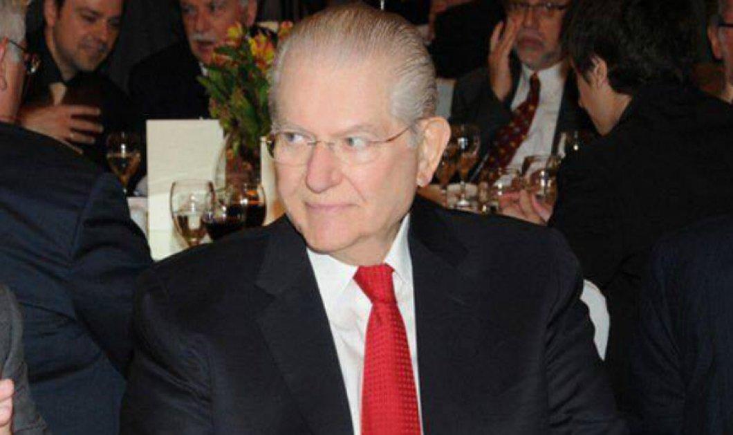 Έφυγε στα 84 ο επιχειρηματίας Αλέξανδρος Μπακατσέλος - Ιδρυτής της ''PYRAMIS Α.Ε.'' - Κυρίως Φωτογραφία - Gallery - Video