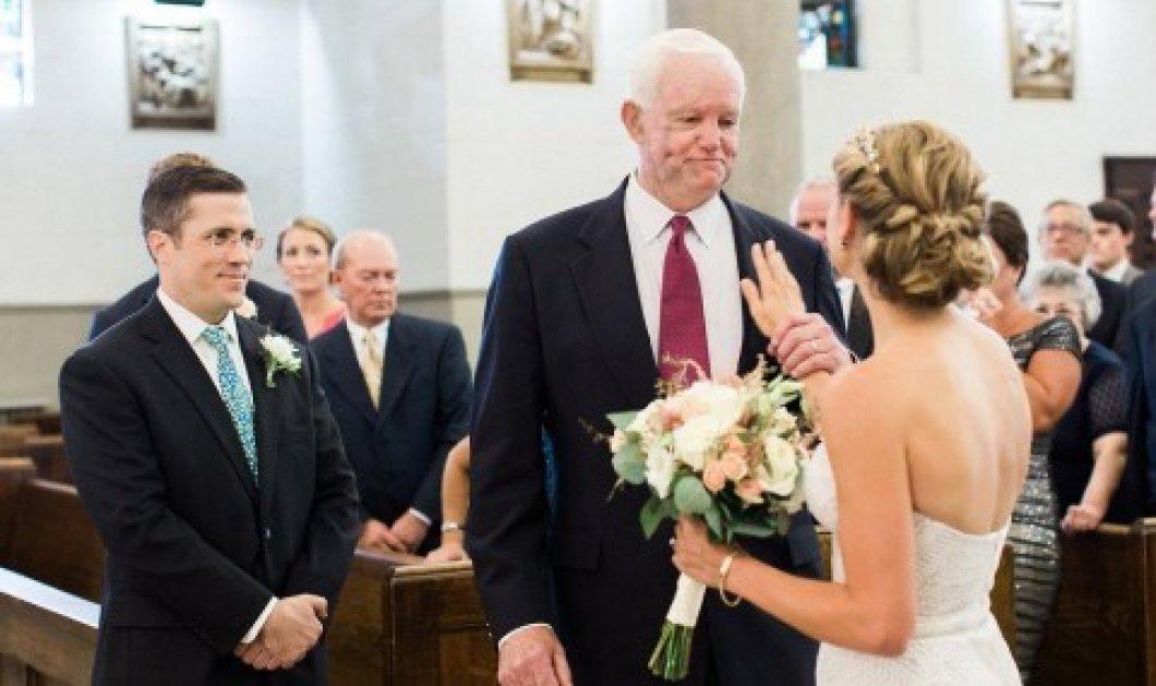 Συγκινητικό βίντεο: Τη συνόδευσε ως νύφη στον γάμο της ο λήπτης της καρδιάς του πατέρα της  - Κυρίως Φωτογραφία - Gallery - Video