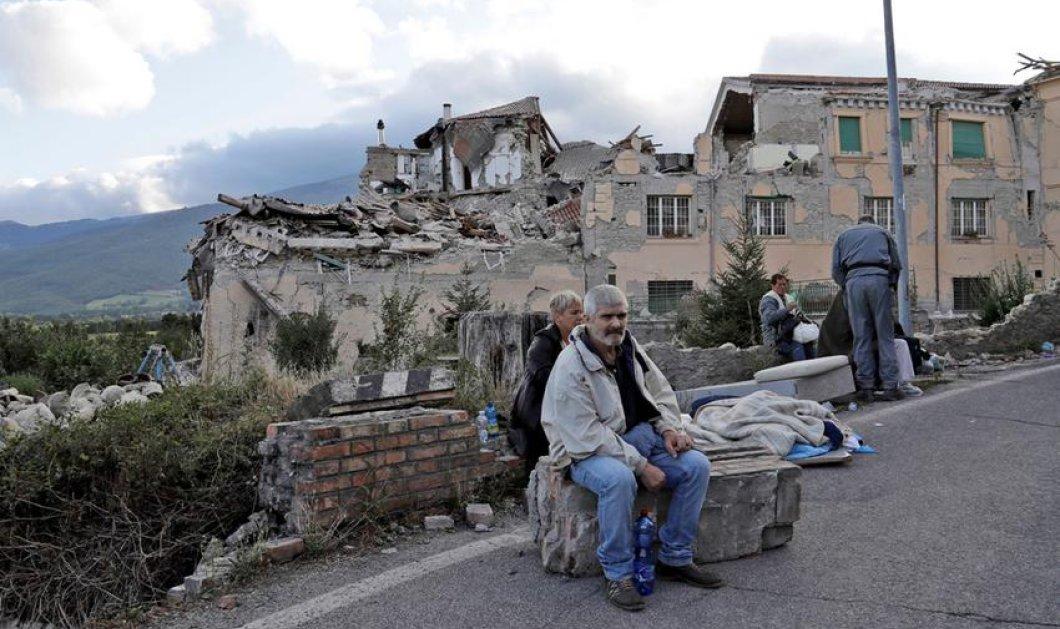 Δήμαρχος Αματρίτσε: Η πόλη δεν υπάρχει πια - Τα 3/4 της έχουν καταστραφεί  - Κυρίως Φωτογραφία - Gallery - Video