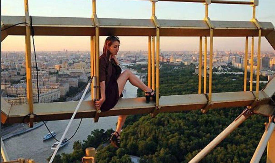 Τοp woman η πιο τολμηρή & ατρόμητη Ρωσίδα του κόσμου - Οι υψοφοβικοί μην δείτε τις selfies της Angelina!    - Κυρίως Φωτογραφία - Gallery - Video