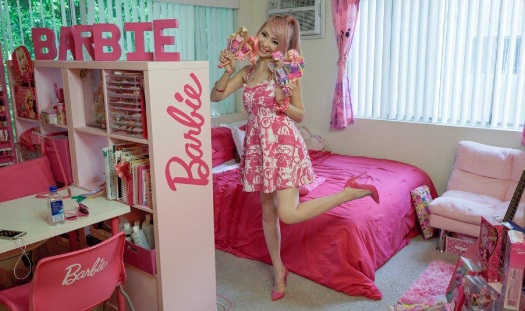 Η 34χρονη Azusa ξόδεψε 55.000 λίρες για να κάνει το σπίτι της «ιερό της Barbie» - Φώτο  - Κυρίως Φωτογραφία - Gallery - Video