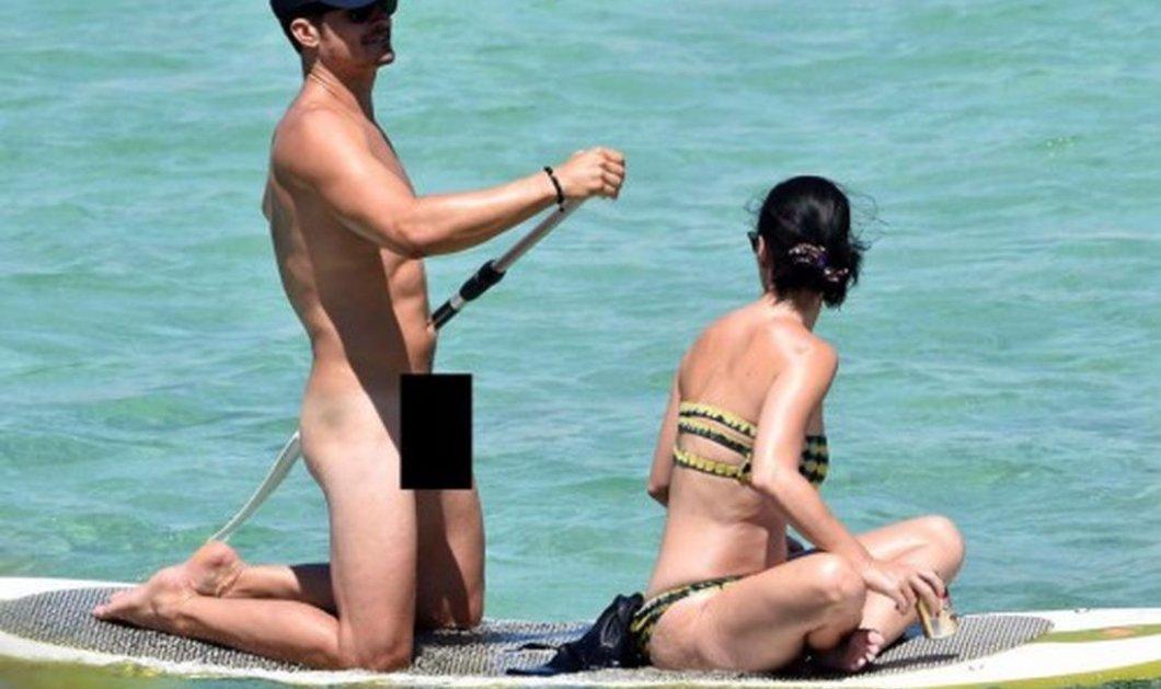 Τα πέταξε όλα & έγινε χαμός από τους paparazzi: Ο Orlando Bloom έκανε γυμνός μπάνιο με την Katy Perry (Φωτό) - Κυρίως Φωτογραφία - Gallery - Video