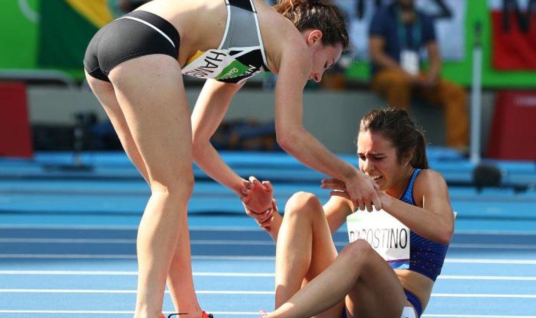 Top Women η Αμπι Ντ'Αγκοστίνο και η Νίκι Χάμπλιν: Οι 2 αθλήτριες του Ρίο που έδειξαν σε όλους το Ολυμπιακό ιδεώδες - Κυρίως Φωτογραφία - Gallery - Video