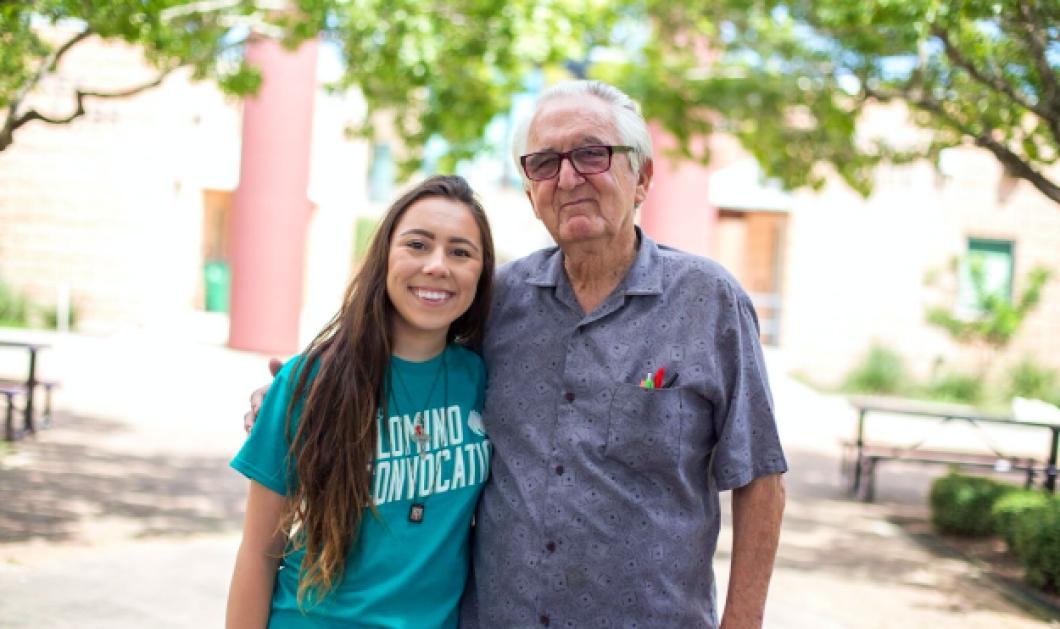 Story of the day: Παππούς 82 χρονών είναι συμφοιτητής με την 18χρονη εγγονή του στο ίδιο Πανεπιστήμιο - Κυρίως Φωτογραφία - Gallery - Video