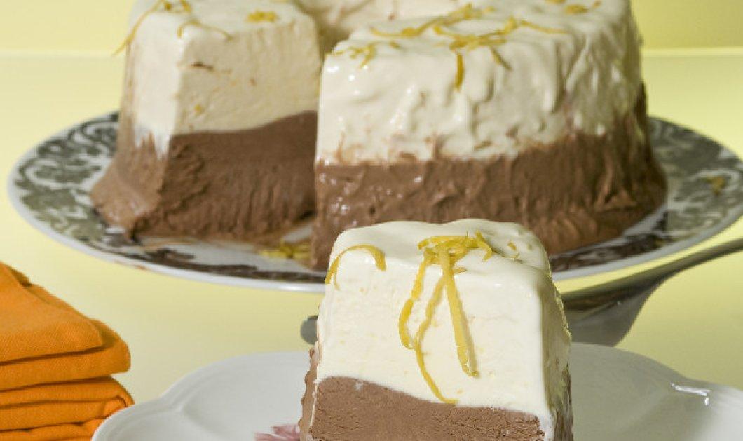 Διπλή απόλαυση: Παρφέ σοκολάτα και λεμόνι από τον Στέλιο Παρλιάρο! - Κυρίως Φωτογραφία - Gallery - Video