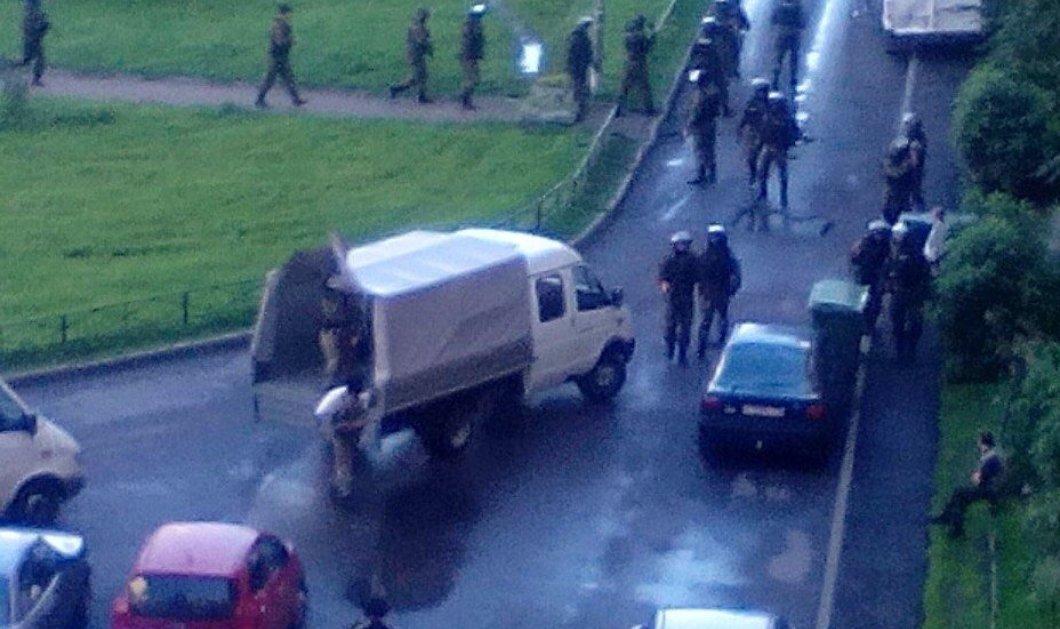 Τρόμος στην Αγ. Πετρούπολη: Πυροβολισμοί και εκρήξεις - Πιθανές συλλήψεις τρομοκρατών - Κυρίως Φωτογραφία - Gallery - Video