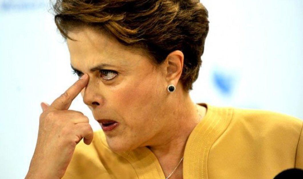 Είναι οριστικό - Παραπέμπεται σε δίκη η Πρόεδρος της Βραζιλίας Ρούσεφ - Κυρίως Φωτογραφία - Gallery - Video