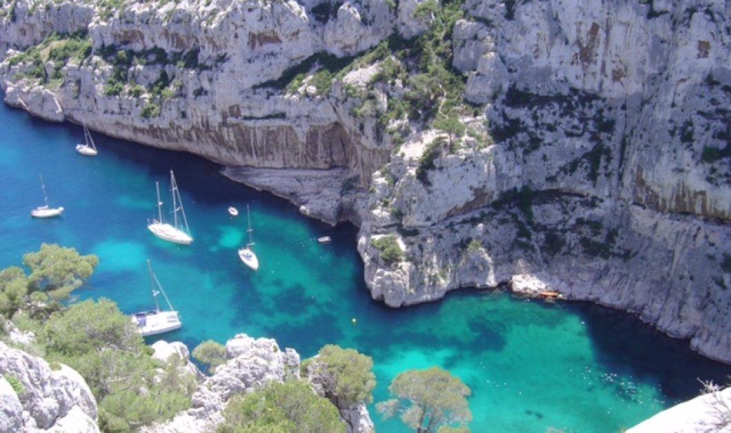 Πάμε παράδεισο: Η παραλία Calanque d'En-Vau στην Μασσαλία με τα σμαραγδένια νερά & τις χρυσές αμμουδιές μας περιμένει - Κυρίως Φωτογραφία - Gallery - Video