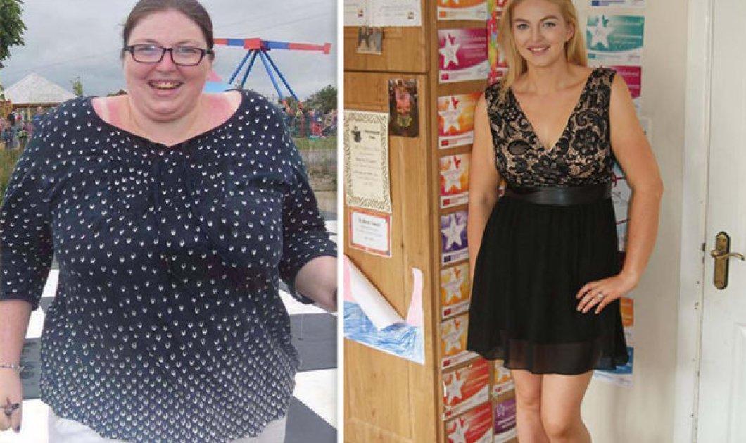 Κυριολεκτικά άλλος άνθρωπος! Ήταν 127 κιλά, έκοψε μόνο μια κακή συνήθεια & έγινε αγνώριστη  - Κυρίως Φωτογραφία - Gallery - Video