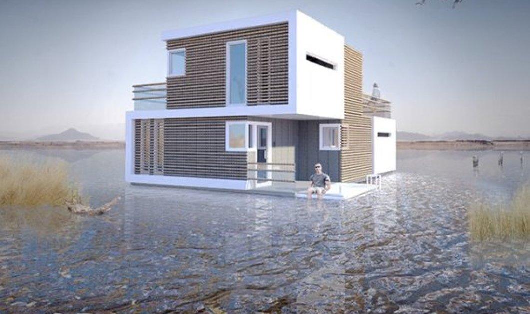 Αυτό το πλωτό σπίτι χωρίζει στα δύο όταν παίρνουν διαζύγιο και οι ιδιοκτήτες του - Δείτε φωτό - Κυρίως Φωτογραφία - Gallery - Video