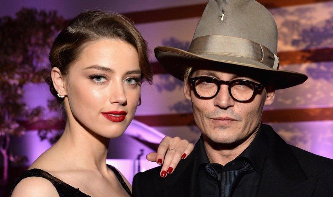 Ο Depp έκοψε από ζήλια το δάχτυλο του (φωτό) κατηγορώντας την Heard για σχέση με τον πρώην της Anjelina Jolie  - Κυρίως Φωτογραφία - Gallery - Video
