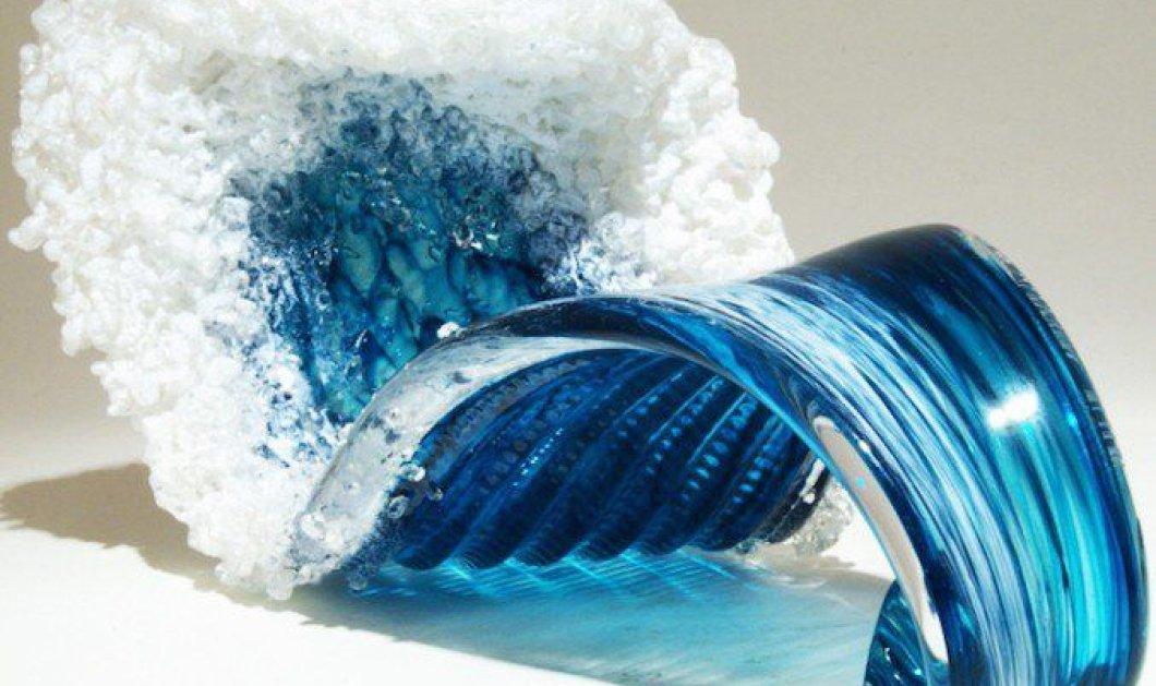 Ο ωκεανός έγινε.... βάζο - Δείτε τις απίθανες δημιουργίες σε βαθύ μπλε που εντυπωσιάζουν - Κυρίως Φωτογραφία - Gallery - Video