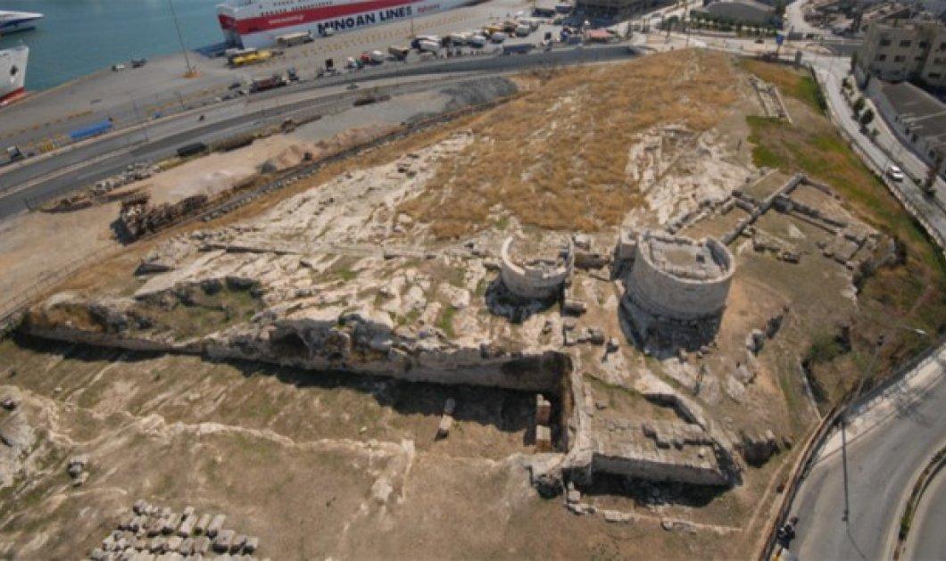 "Good news: Νέο ""πρόσωπο"" αποκτά ο αρχαιολογικός χώρος της Ηετιώνειας Πύλης στον Πειραιά - Κυρίως Φωτογραφία - Gallery - Video"