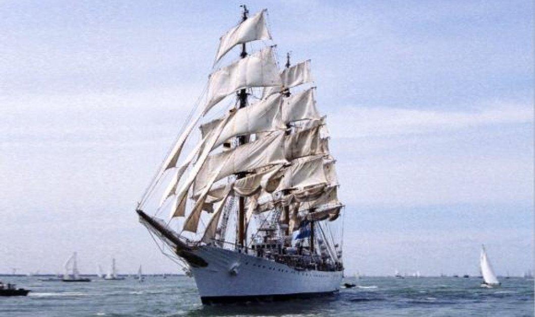 Η καλύτερη ιδέα για σήμερα: Επισκεφθείτε δωρεάν το φανταστικό τρικάταρτο ARA Libertad στο λιμάνι του Πειραιά! - Κυρίως Φωτογραφία - Gallery - Video